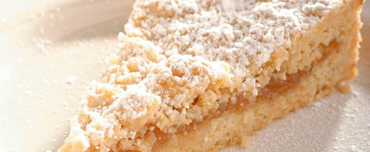 Receita de torta de maçã e tâmara