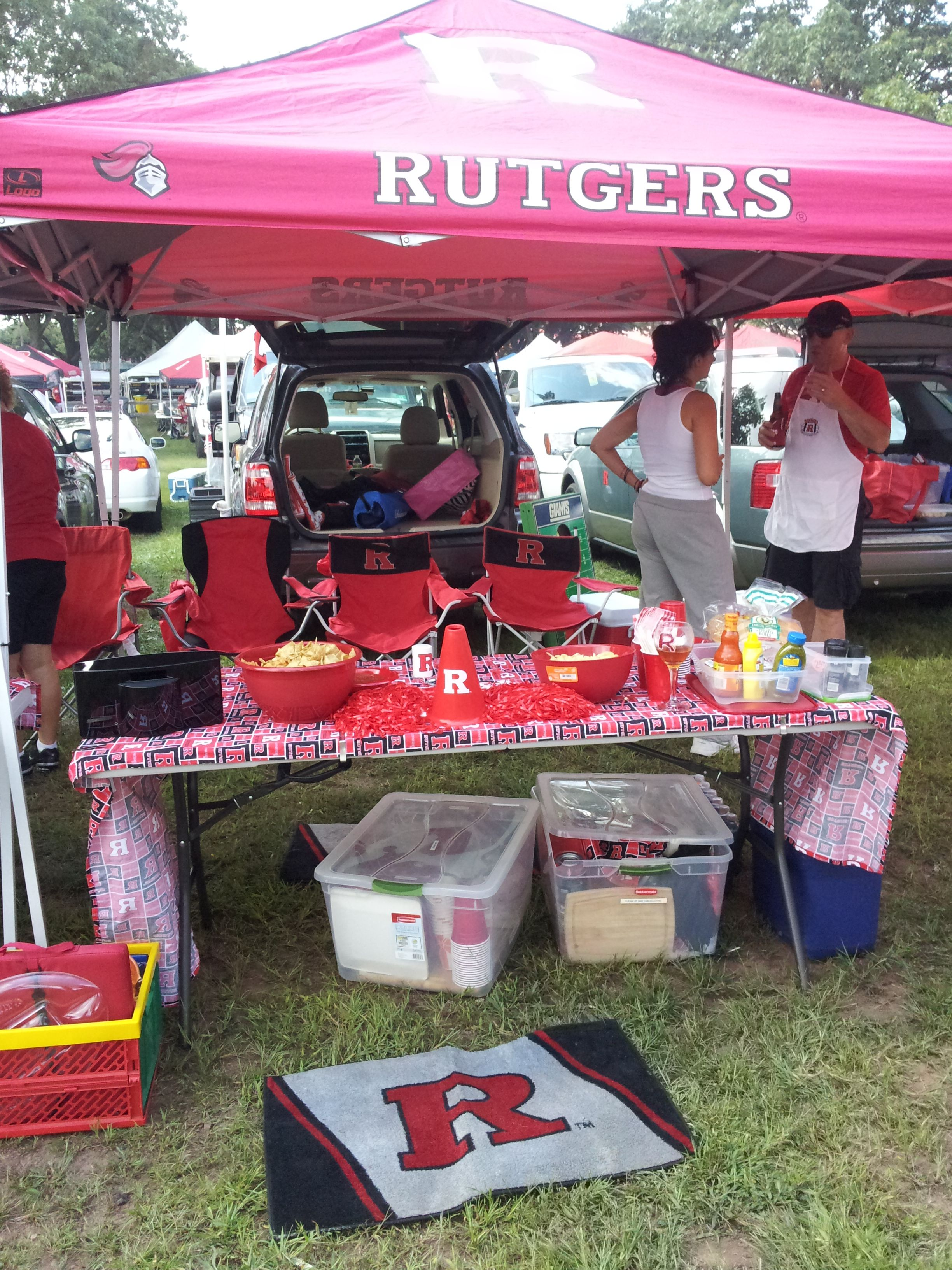 Tailgate Is Ready Rutgers Football Tailgate Rutgers
