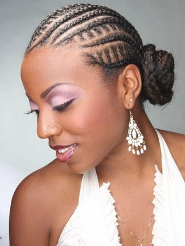 Cornrows Braided Hairstyles For Black Women  Outstanding Black