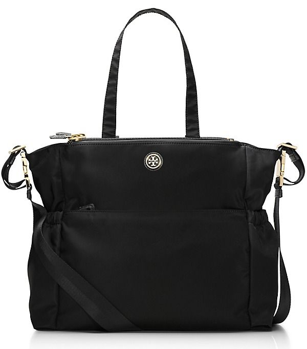 8aa27c76019 Tory Burch Travel Nylon Baby Bag - nice but not leather and not a backpack.  Like the tote