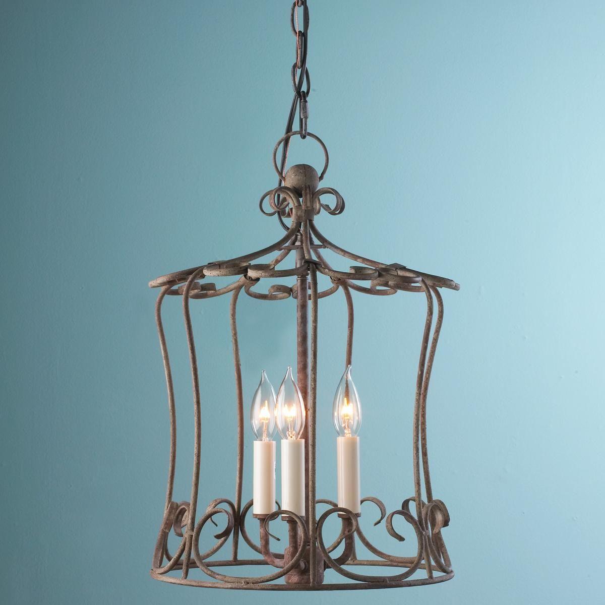 Iron Scroll Shabby Cottage Lantern, $225 Shades of Light   Light ...