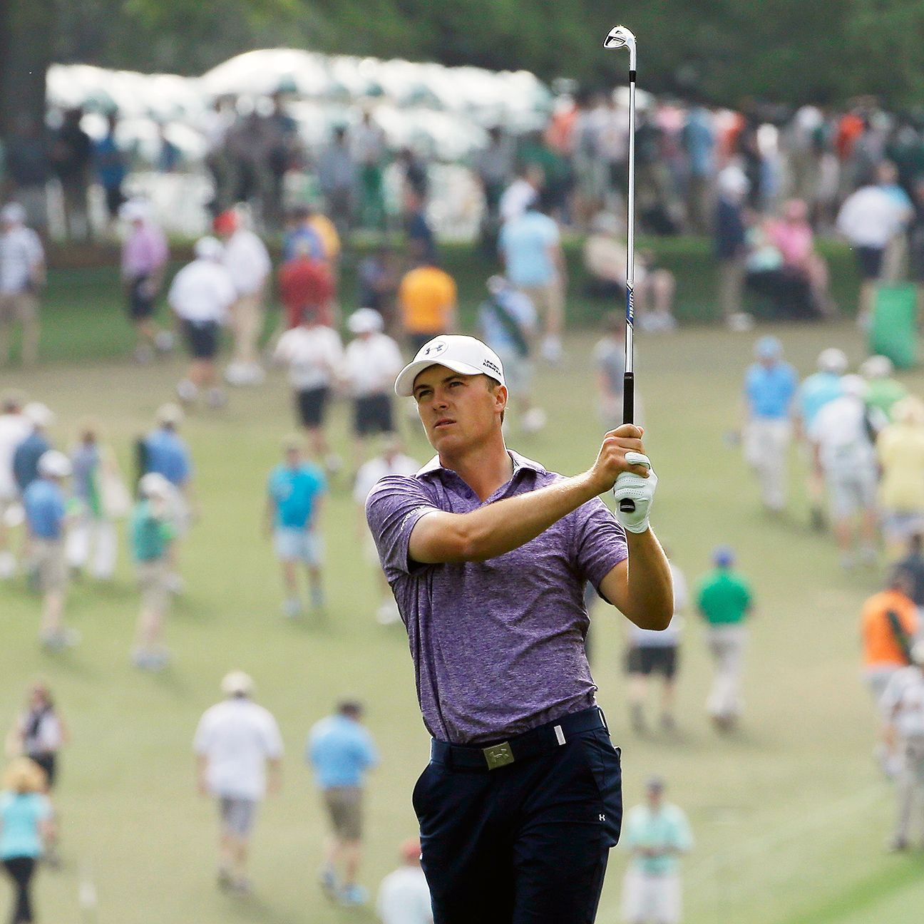 Jordan Spieth motivated, celebrated by his family