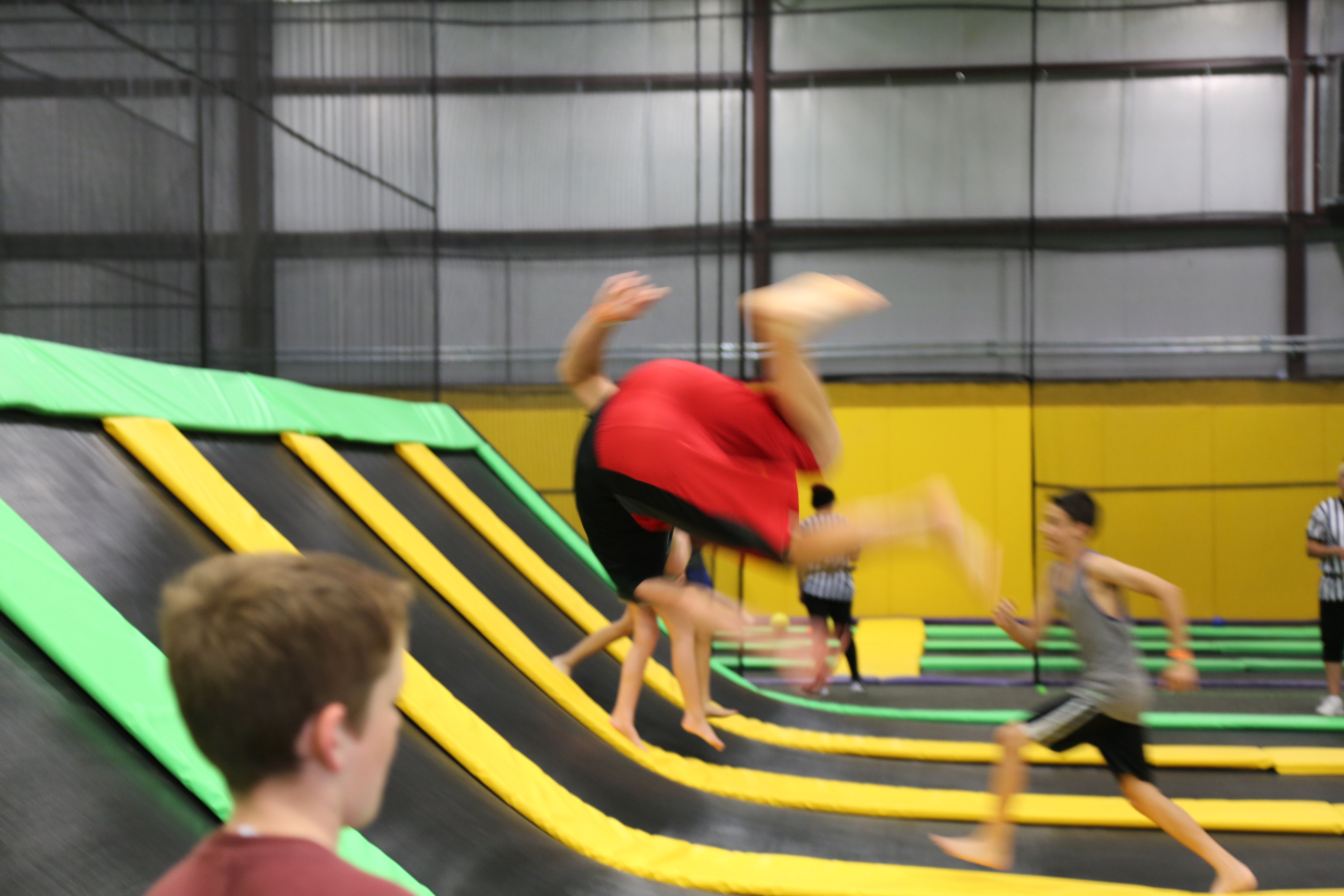 Get fancy and safe trampoline park private