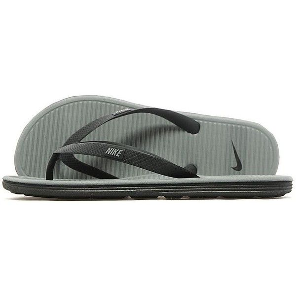 d1a359695d56 Nike Solarsoft II Flipflops ( 26) ❤ liked on Polyvore featuring men s  fashion