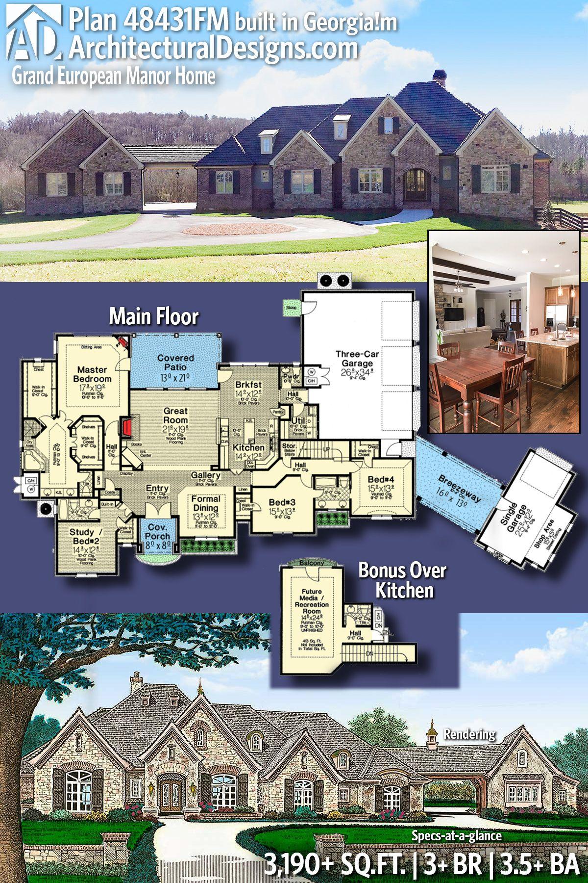 Plan 90284PD Modern Home Plan with Optional