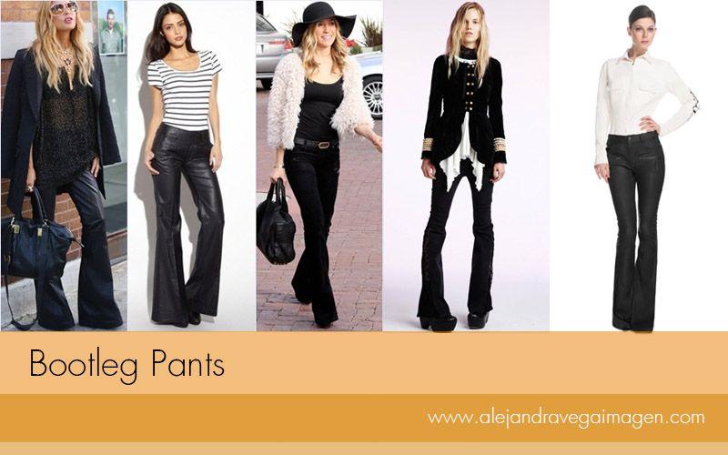 Inspirados en los 70, estos pantalones brindan un giro total a los looks. El ancho de la bota depende de tu tipo de silueta, si eres petite escoge una bota sutil.