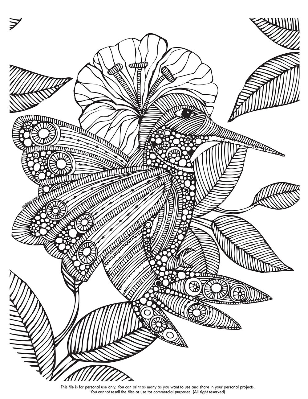Happy Coloring Monday Here Your Free Page Valentinadesign Images Printables Emilia 10 07 VHpdf Enjoy It