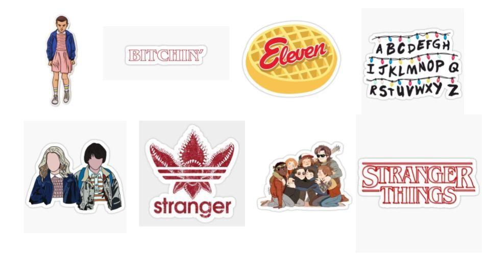 Stranger Things Sticker Pack Stranger Things Sticker Stranger Stranger Things