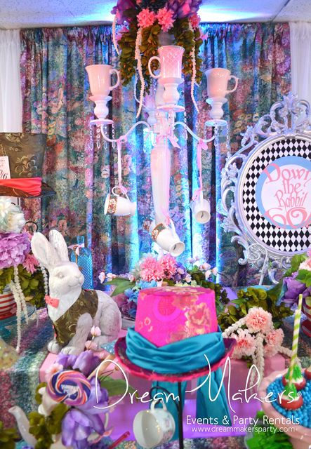 Alice In Wonderland Quinceañera Party See More Ideas At Catchmyparty