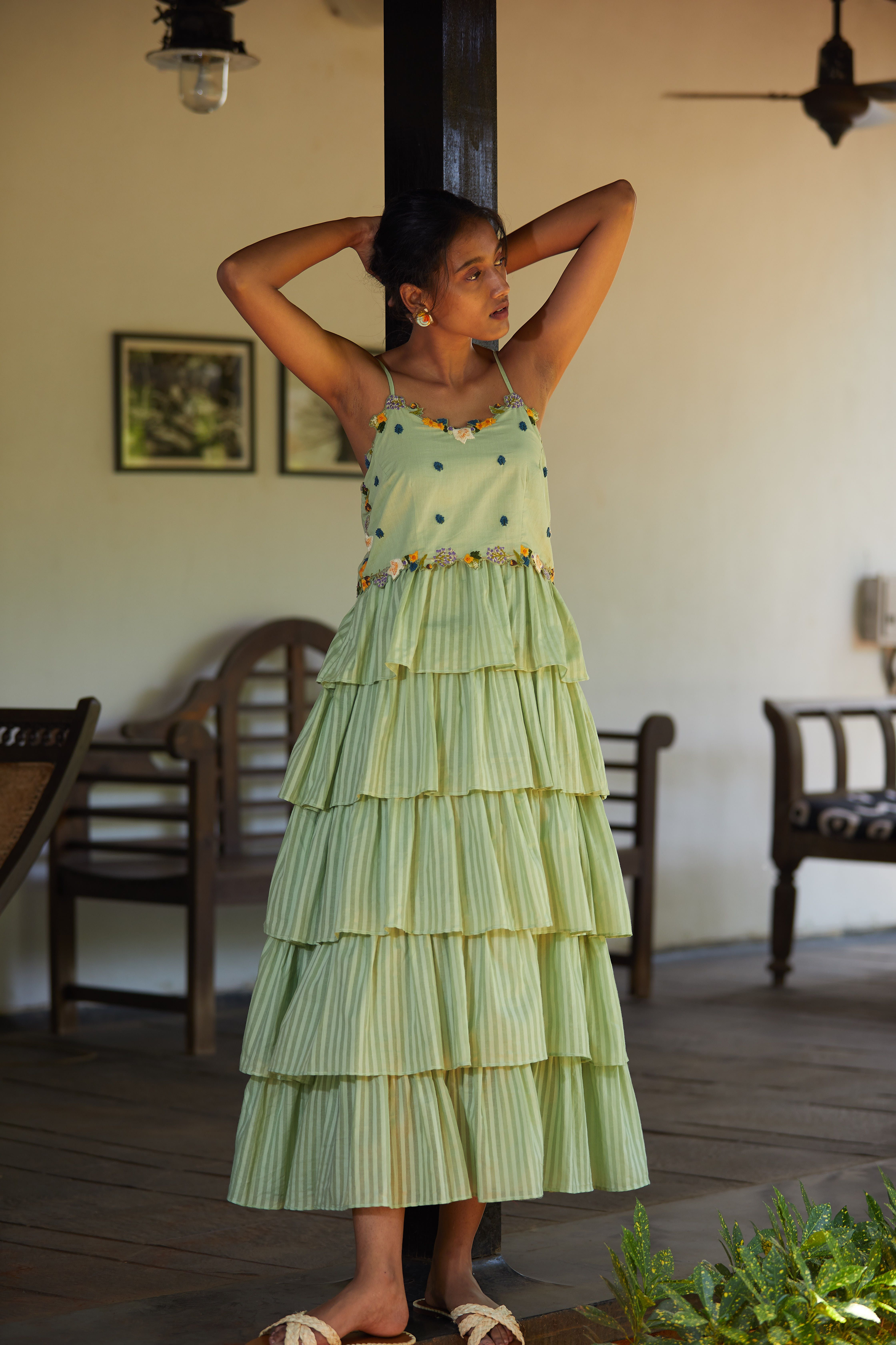 Soha Dress Cotton Dress Summer Indian Fashion Dresses Fashion Attire [ 6720 x 4480 Pixel ]