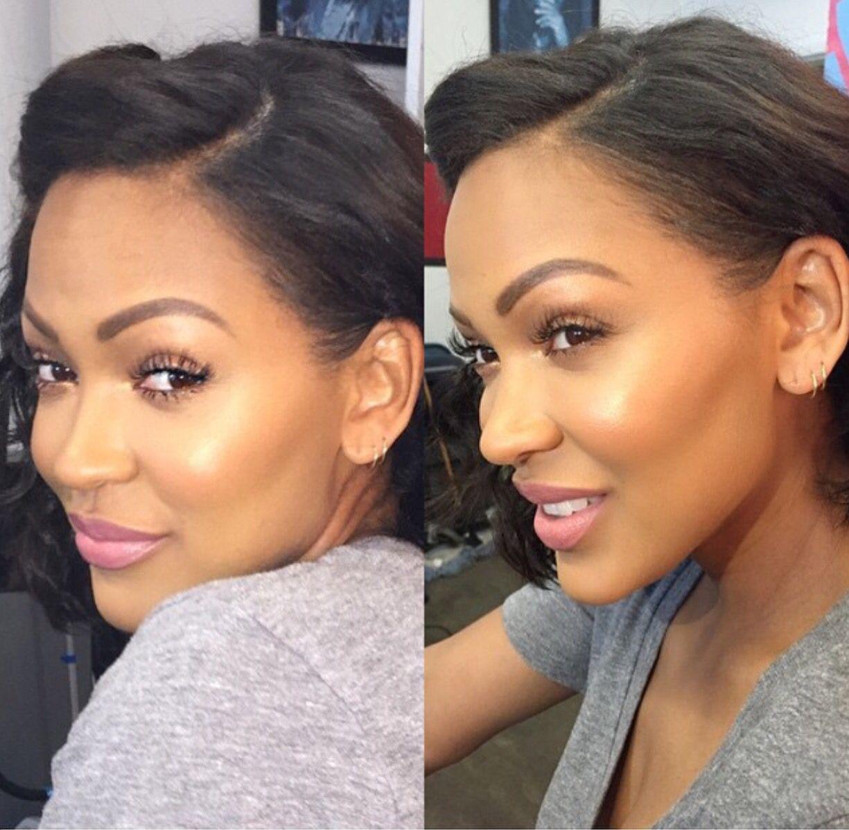 Megan Goode Hair beauty, Hair makeup, African american