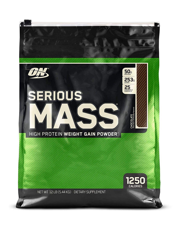 Optimum Nutrition Serious Mass Weight Gainer Protein Powder Chocolate Optimum Nutrition Weight Gainer Mass Gainer