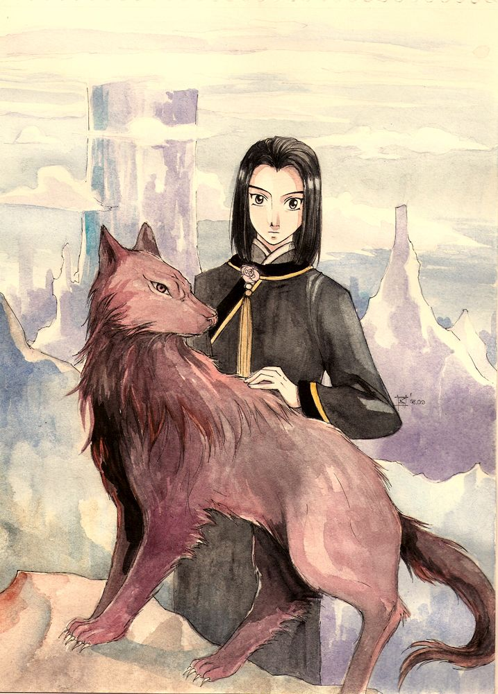 Taiki And Gouran The Twelve Kingdoms Fanart