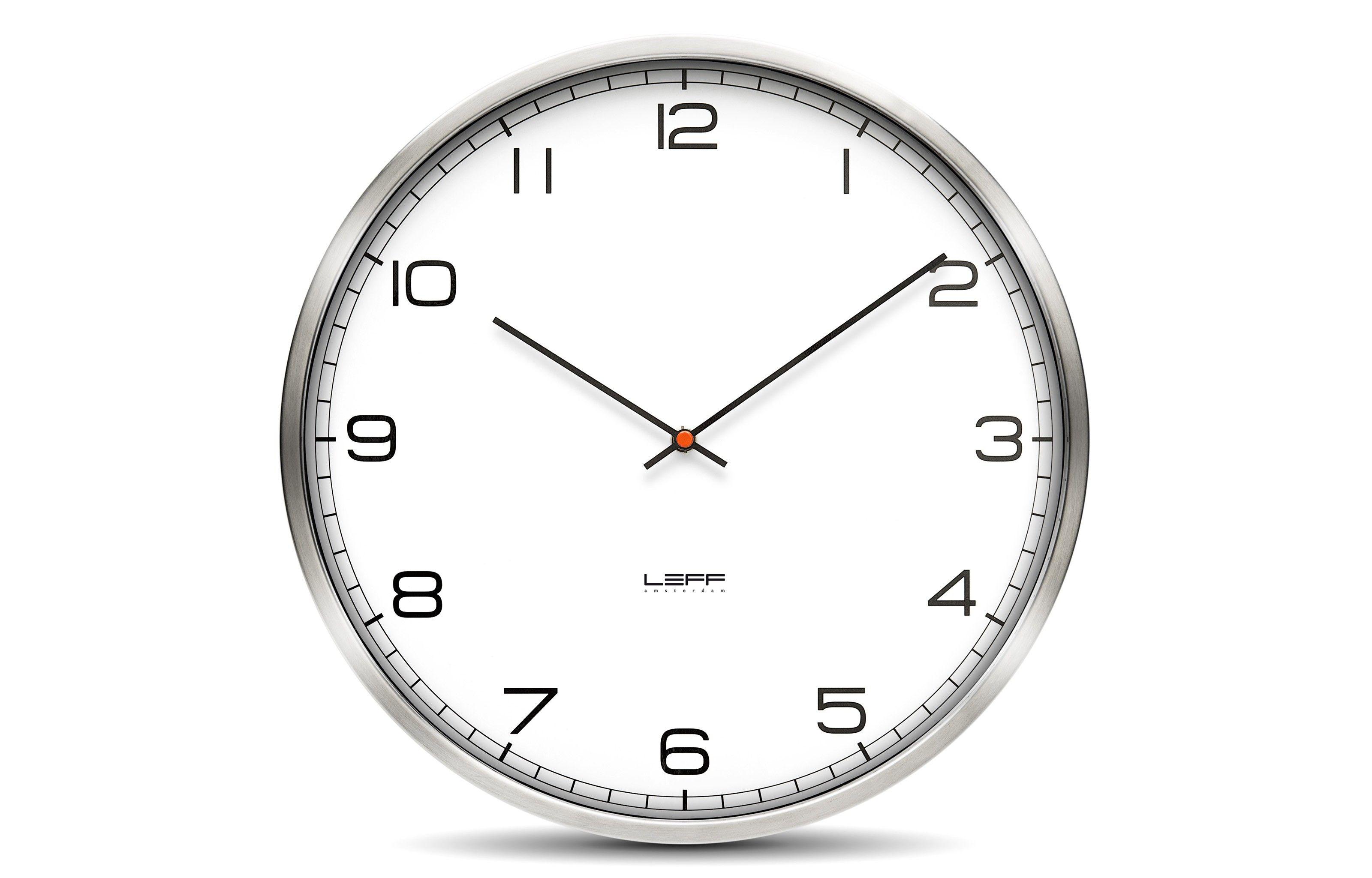 One Arabic Wall Clock Viesso 79 00 Wall Clock Contemporary Wall Clock White Wall Clocks