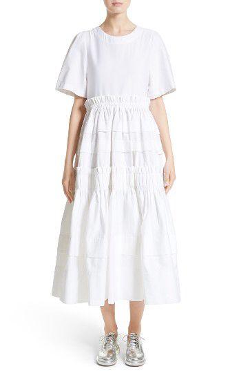 MOLLY GODDARD Molly Goddard Mathilda Maxi Dress available at #Nordstrom