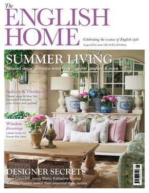 5sdcsdc English House Summer Living Interiors Magazine