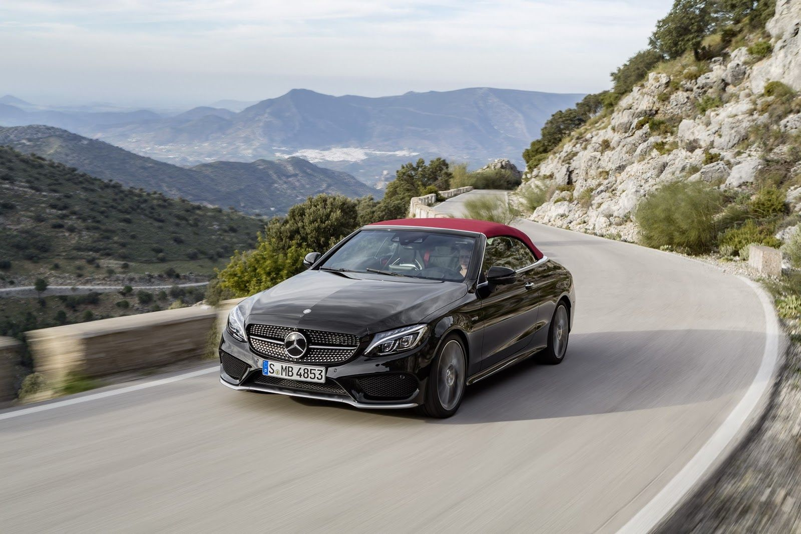 Mercedes Classe C conversível