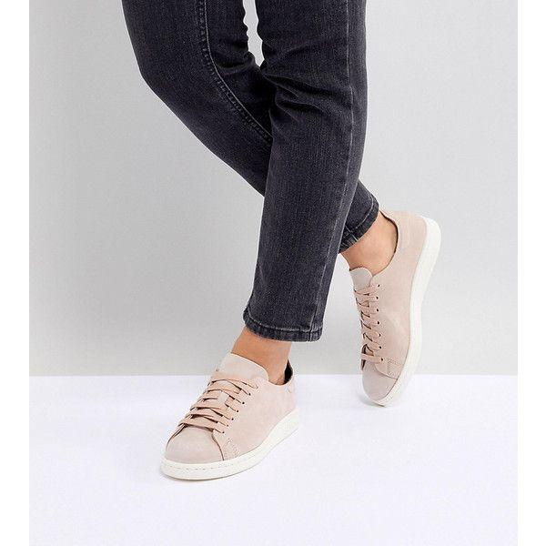 Adidas originali stan smith nuud nabuk scarpe rosa.