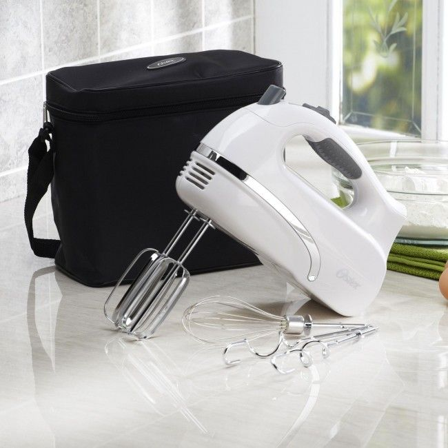 Oster Hand Mixer with Storage Case Motors Easy storage and Storage