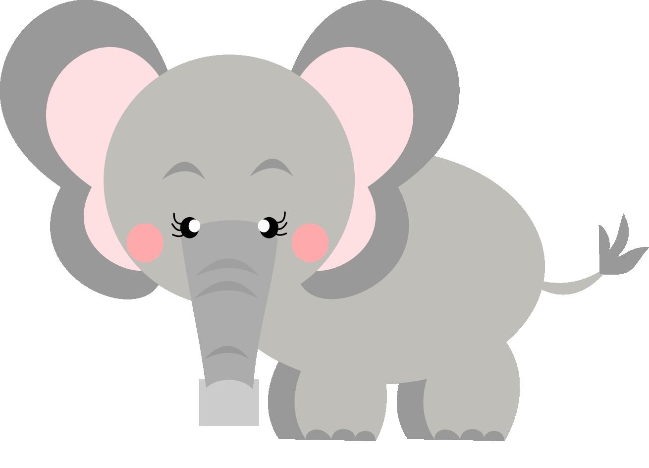 Montando a minha festa Imagens: Safari | Elefantes ...