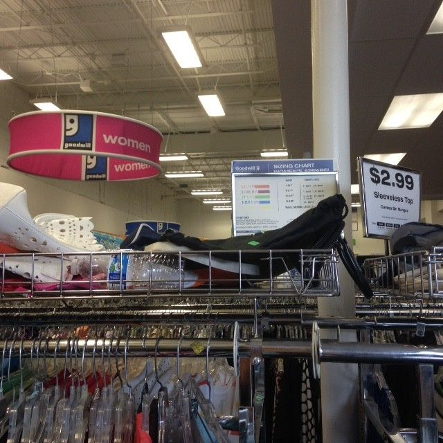 Top Rules Of Goodwill Shopping Etiquette The Store Is Not A Trash