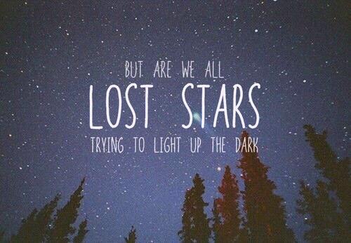 Lost Stars   Adam Levine