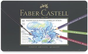 Faber Castell Albrecht Durer Watercolor Pencil Set Set Of 60