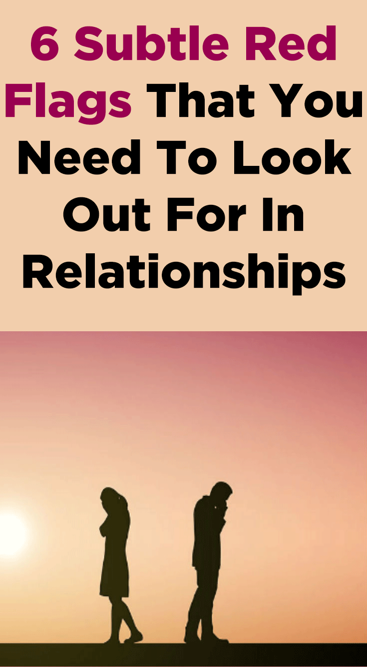 What do you look out for in a relationship