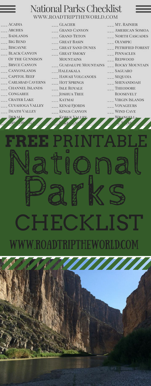 photograph regarding Printable List of National Parks called Nationwide Parks Listing The us Countrywide parks united states of america