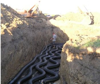 Earth Tubes Passive Heating Cooling System Instead Of A C Or