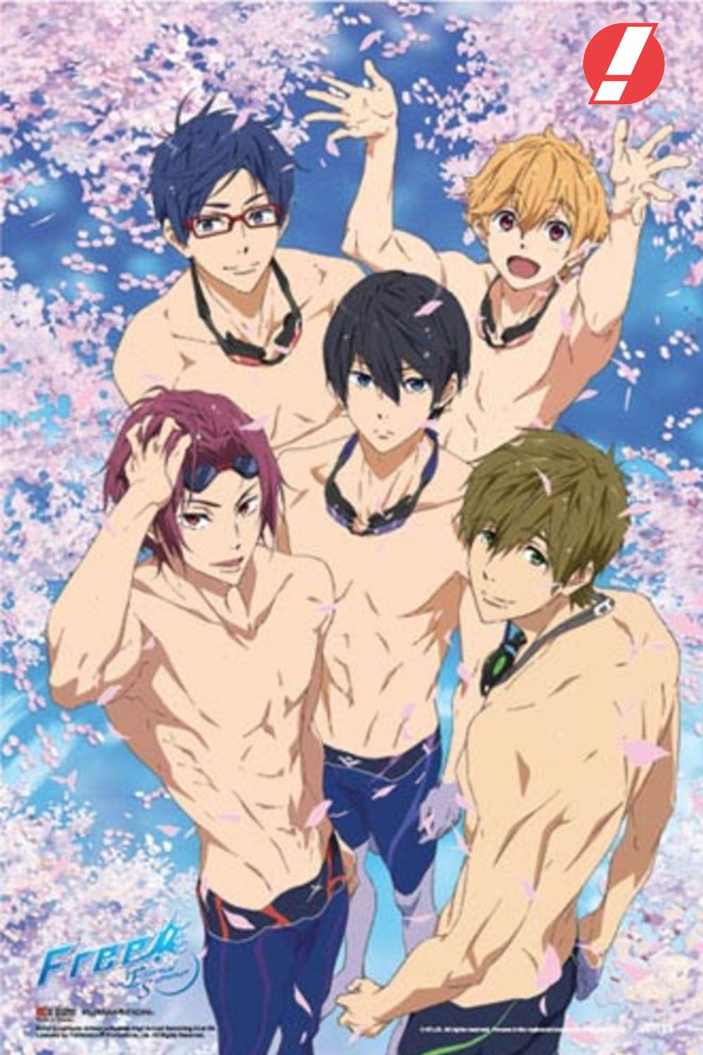 Photo of Only $16.99! Pool With Sakura Group Free Fabric Poster (30 X 42 In)