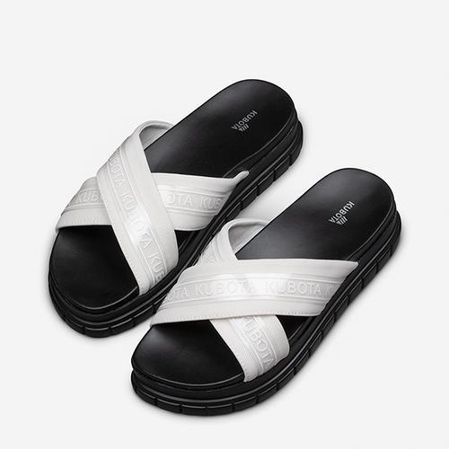Klapki Kubota Cross Biale Kubota Store Kubota Shoes Fashion