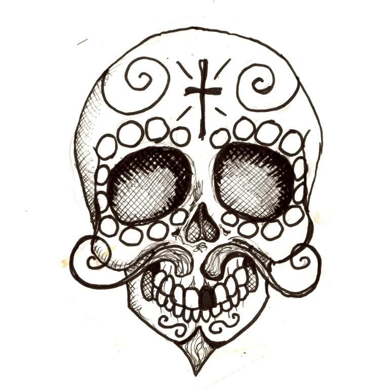 Pancho Day of the Dead coloring page Crafts Clip art and Hello