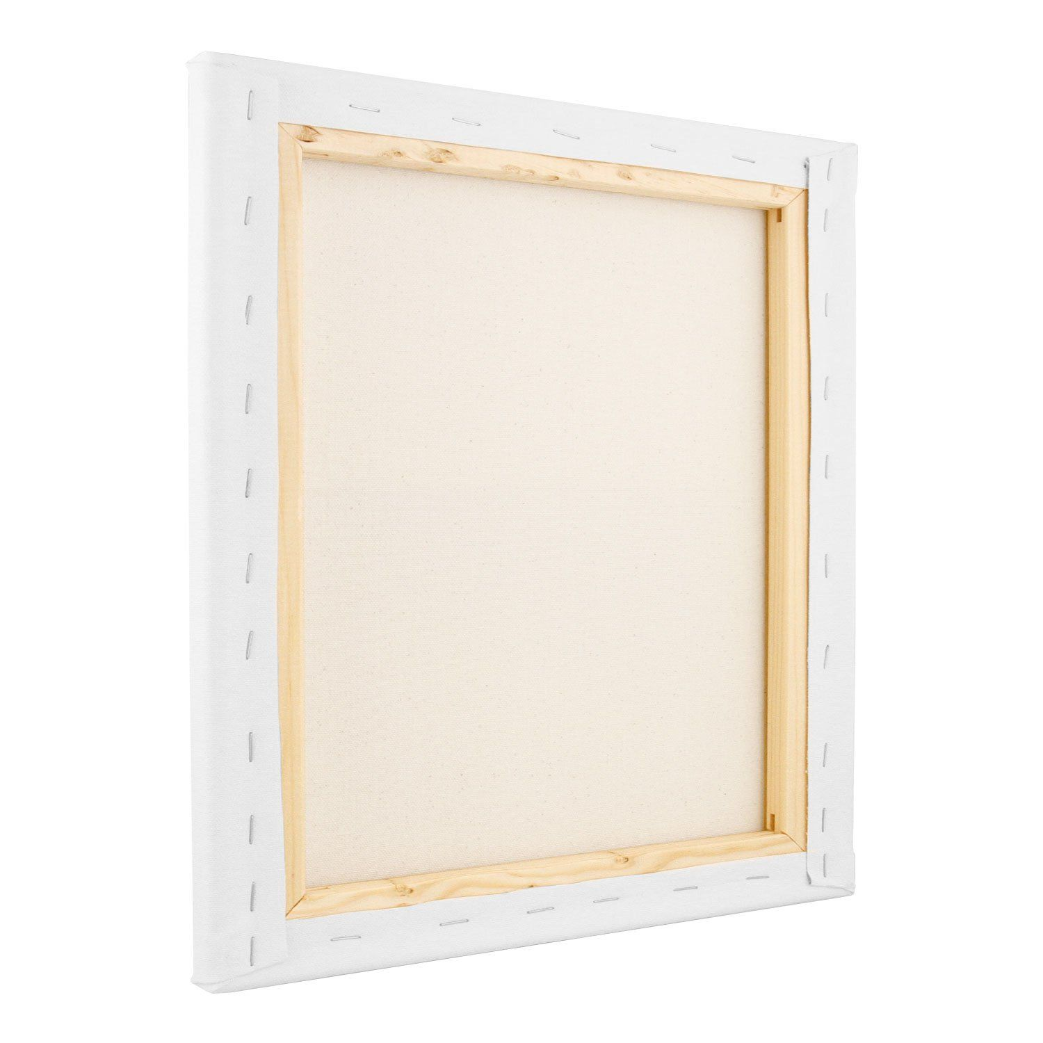 US Art Supply 4 x 12 inch Professional Quality Acid Free Stretched Canvas 6-Pack 1 Full Case of 6 Single Canvases 3//4 Profile 12 Ounce Primed Gesso