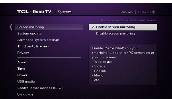 Roku provides the simplest way to stream entertainment to