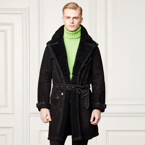 Lennox Suede-Shearling Coat - Leather & Suede  Jackets & Outerwear - RalphLauren.com