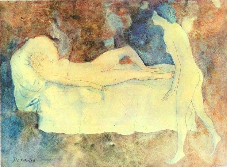 피카소의 장미시대 : 네이버 블로그. Picasso 1904