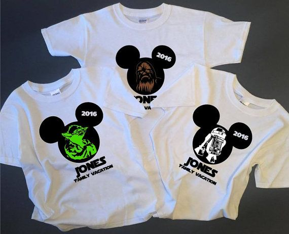 Star Wars Shirt Birthday Disney By XtremeBoutique Family Vacation Shirts