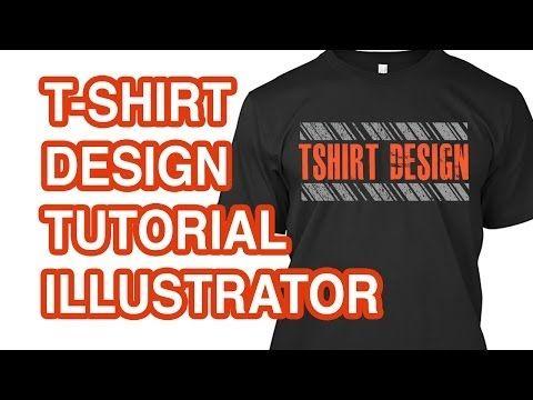 Download How To Design A T Shirt In Illustrator Youtube Shirt Mockup Illustrator Tutorials Adobe Illustrator Tutorials