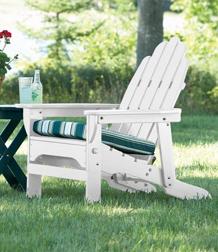 Reclining Adirondack Chair: Adirondack at L.L.Bean | Backyard Ideas ...