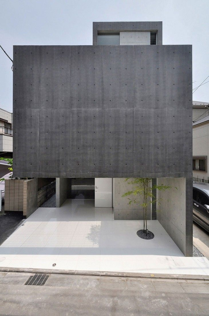 House In Kaijin By Fuse Atelier Minimalist Architecture Minimal
