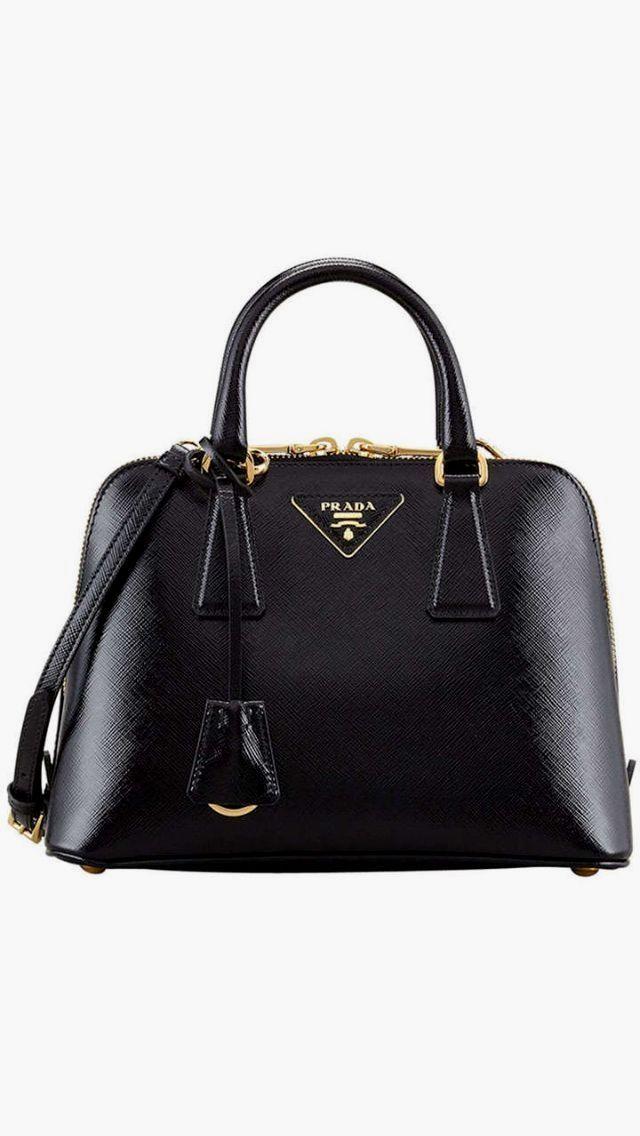 e154e0414cec Classic Black Prada Bag leather handbags and purses   Burberry ...
