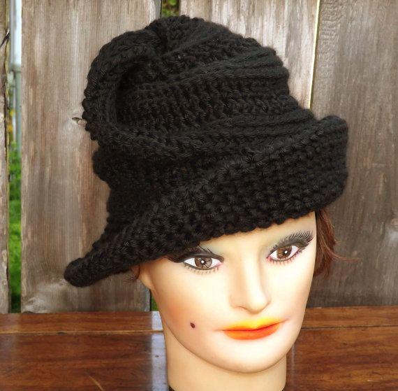 Crochet Pattern Hat Womens Crochet Hat Pattern Womens Hat Steampunk