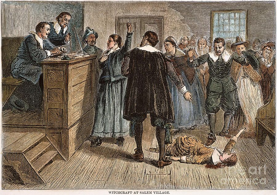 the deterioration of salem during the witch hunt trials An account of events in the infamous salem witch trials of 1692  to death  under heavy stones for refusing to submit to a trial on witchcraft charges  the  trumped-up witch hysteria in salem, massachusetts, deteriorated the rational,  and.