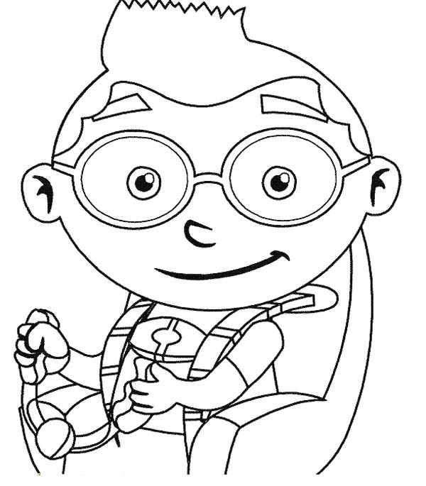 Leo From Little Einstein Coloring Page Coloring Sky Little Einsteins Cartoon Coloring Pages Kids Coloring Books