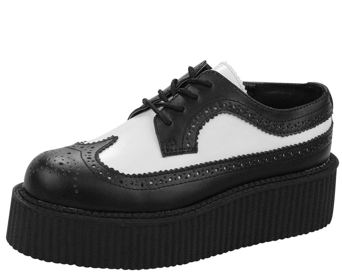 black and white creepers shoes www pixshark images