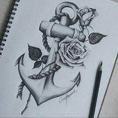 Zeichnen – #Bär #Blumen #Brust #Familie #Hund #Liebe,  #Bär #Blumen #Brust #Familie #Hund #In…