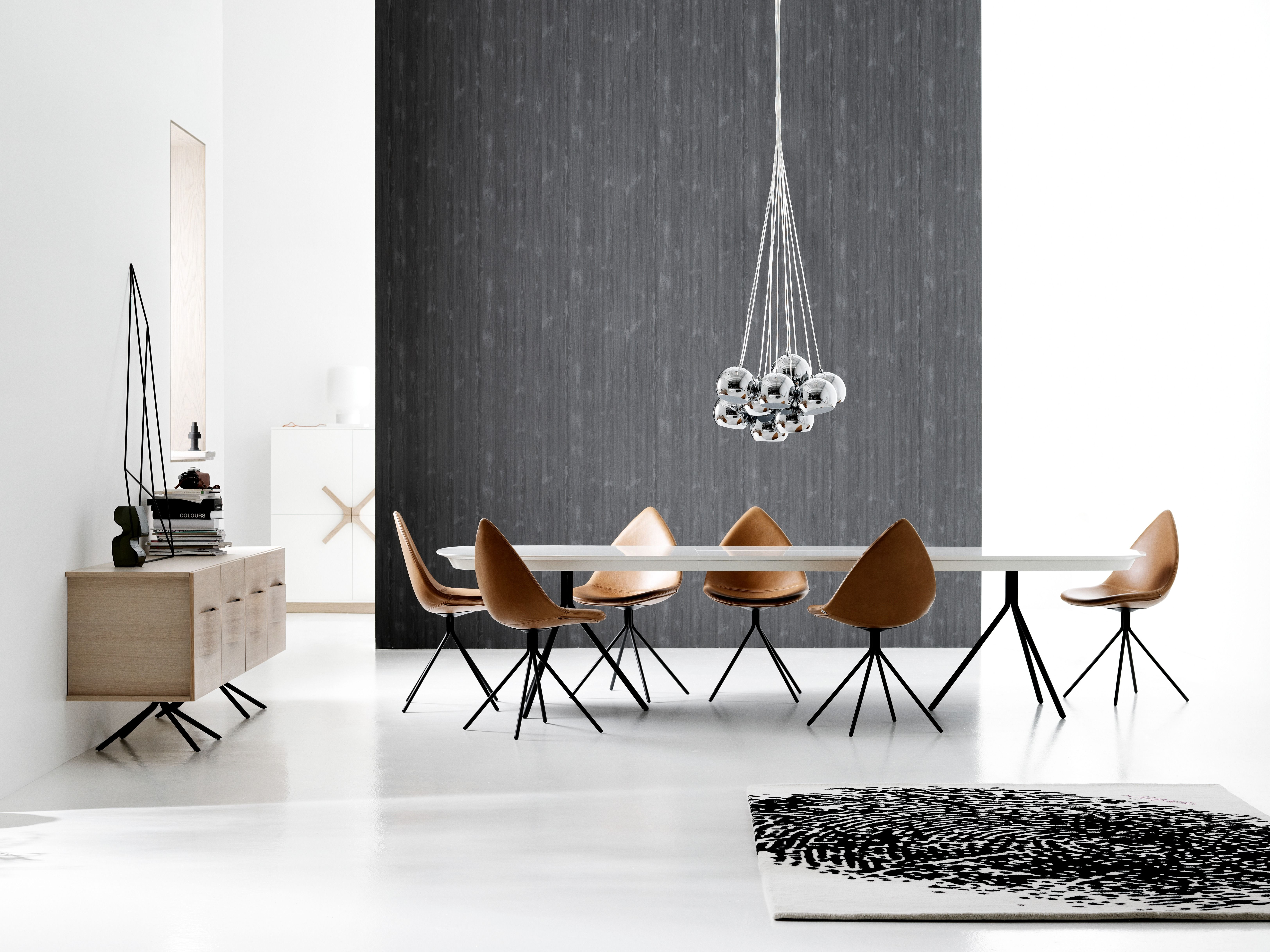 Dining In Scandinavian Style BoConcept Ottawa Set Designed By Karim Rashid
