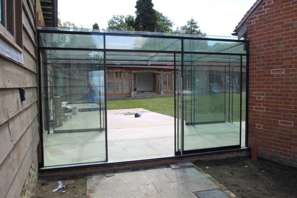 Image result for glass links between buildings Huis