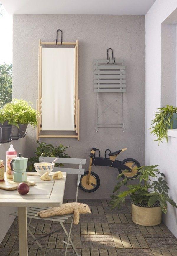 Mobilier Pour Balcon 101 idées déco & aménagement pour un petit balcon | cosy corner